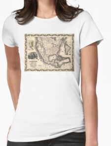 United States in 1849 Womens Fitted T-Shirt