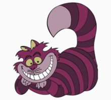Smiling Cheshire Cat Kids Clothes