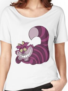 Smiling Cheshire Cat Women's Relaxed Fit T-Shirt