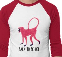 Back to School Men's Baseball ¾ T-Shirt