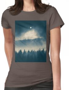 Follow the light Womens Fitted T-Shirt