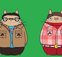 Big Bang Totoro by Ednathum
