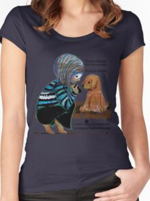 Smile Baby Pet Portrait Photographer CUSTOMISED Women's Fitted Scoop T-Shirt