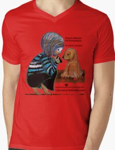 Smile Baby Pet Portrait Photographer CUSTOMISED Mens V-Neck T-Shirt
