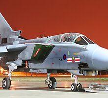 RAF Tornado GR4 @Night by Samuel  Dodd