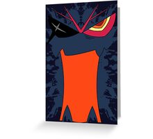 Kill La Kill - Senketsu Greeting Card
