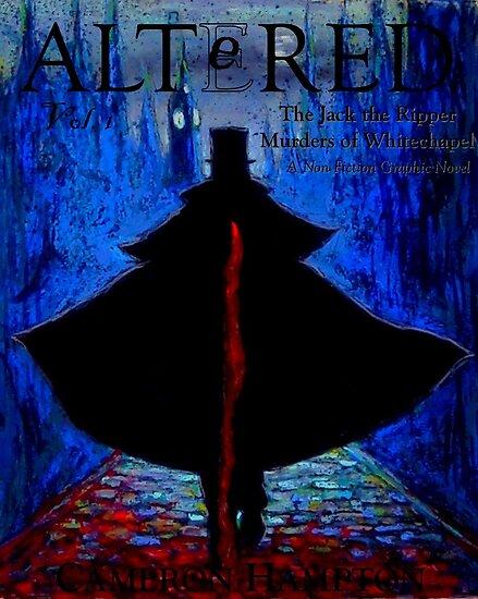 Altered, Book Design Cover by Cameron Hampton