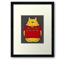 Toto Pooh Framed Print