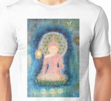 Flower of life Buddha - Close up Unisex T-Shirt