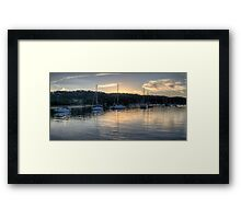 Meditation On Newport - Newport, Sydney - The HDR Experience Framed Print