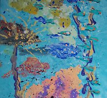 Underwater Abstract 3 by Helene Henderson