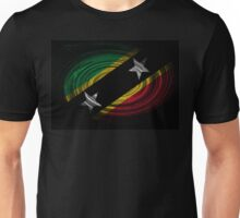 Saint Kitts and Nevis Twirl Unisex T-Shirt