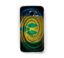 Saint Vincent and the Grenadines Twirl Samsung Galaxy Case/Skin