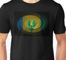Saint Vincent and the Grenadines Twirl Unisex T-Shirt