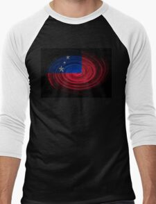 Samoa Twirl Men's Baseball ¾ T-Shirt