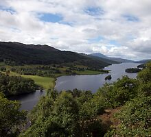 Loch Ness from The Queen's Lookout by Tizimagen