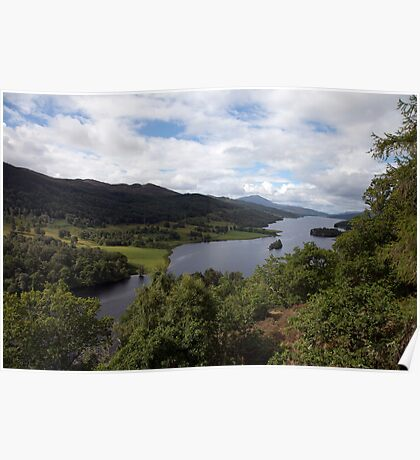 Loch Ness from The Queen's Lookout Poster