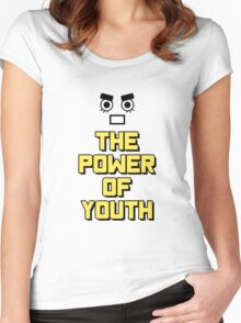 Rock Lee - The Power of Youth!! Women's Fitted Scoop T-Shirt