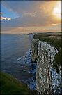 Bempton Cliffs, Yorkshire by almaalice