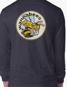 Wannabees windsurfing team shirt Long Sleeve T-Shirt