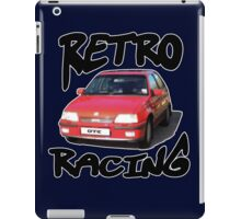 Retro racing 6 iPad Case/Skin