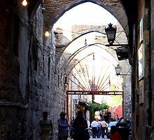 Street in Damascus by HELUA