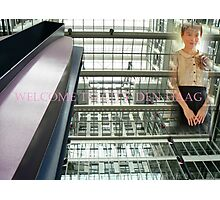 welcome Den Haag Photographic Print