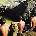aboriginal boys  by KRALT