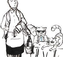 Serving the Cats by Kaptein