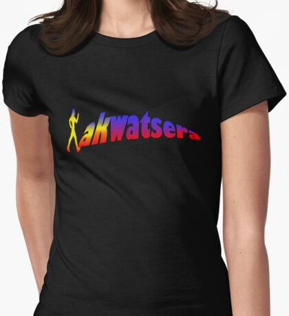 Lakwatsera Philippine Flag Color Womens Fitted T-Shirt