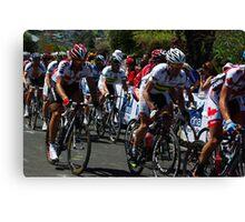 Fabian Cancellara & Cadel Evans Canvas Print