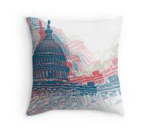 Capitol Crisis Throw Pillow