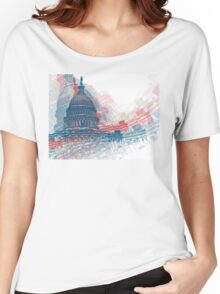 Capitol Crisis Women's Relaxed Fit T-Shirt