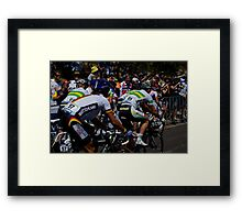 Stuart O'Grady, Baden Cooke & Matthew Goss Framed Print