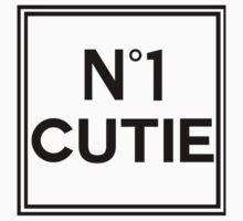No 1 CUTIE Kids Tee