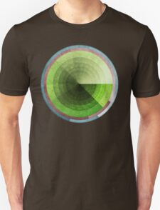 Abstract Rings of Green T-Shirt