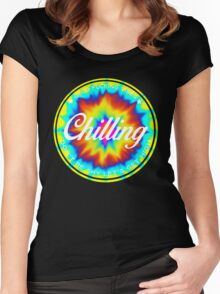 Chilling Women's Fitted Scoop T-Shirt