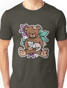 Kitty and a Bear Unisex T-Shirt