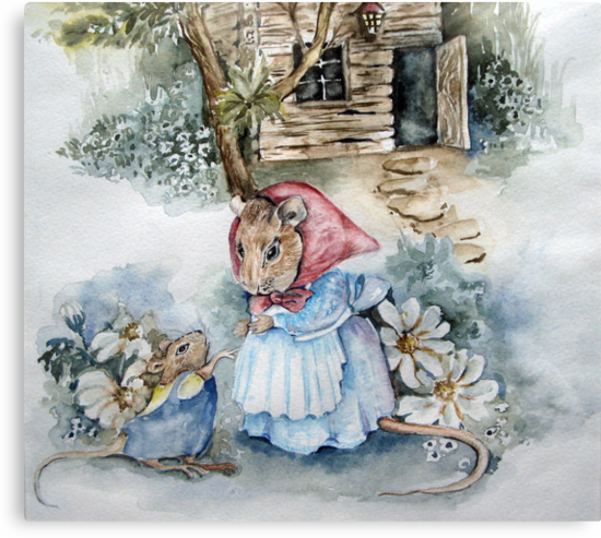 Off to Mouse School!   by Marie Theron