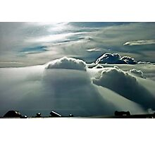 Clouds over Marseille Photographic Print