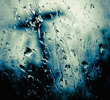 ...the rain outside... by Geoffrey Dunn