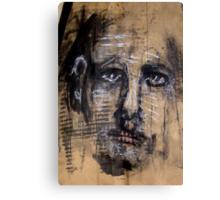 Face, Bernard Lacoque-14 Canvas Print