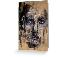 Face, Bernard Lacoque-14 Greeting Card