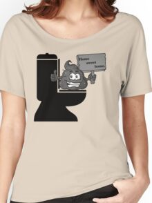 Toilet and poop Women's Relaxed Fit T-Shirt