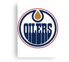 Oilers Canvas Print