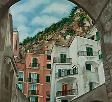 Arches of Italy by Charlotte  Blanchard