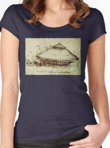 Da Vinci's tank Women's Fitted Scoop T-Shirt