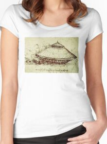 Da Vinci's tank Women's Fitted Scoop T-Shirt