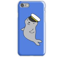 Skipper Seal iPhone Case/Skin