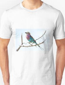 Lilac Breasted Roller - Kruger NP South Africa Unisex T-Shirt